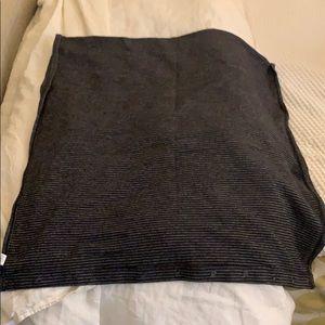 Lululemon large infinity scarf/wrap striped